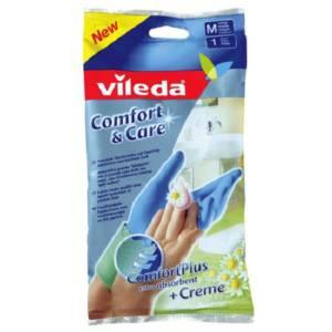 Gants de ménage Comfort & Care Vileda 1 paire de gants small