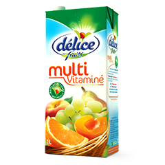 Jus Délice de fruits 1L Nectar Multivitaminé