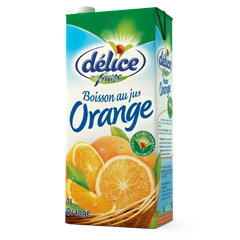 Jus Délice de fruits 1L Boisson au jus Orange