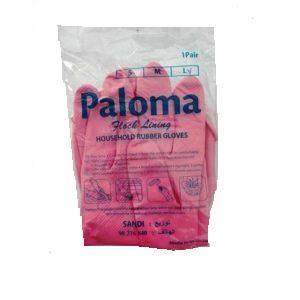 Gants de ménage Paloma 1 paire de gants Large