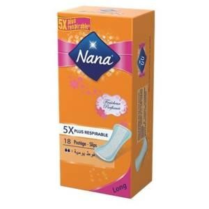 NANA Protège-Slips Longue fraîcheur 18 unités
