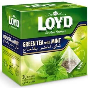 Thé à la menthe verte Loyd 20 sachets