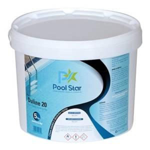 POOL STAR Chlore en pastilles de 20g Seau de 5 Kg